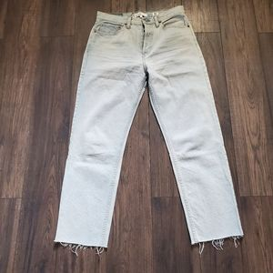 Re/Done Stovepipe Light Blue Jeans